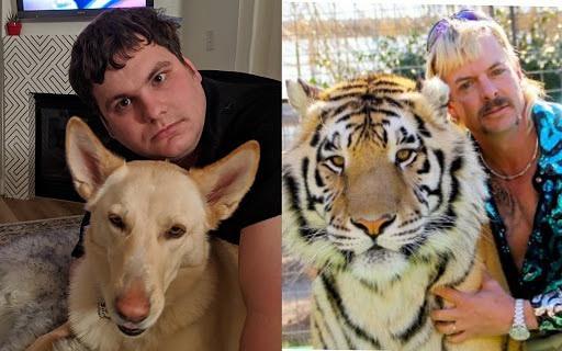 Los fanáticos de Tiger King intentan fotografiar la famosa pose de Joe Exotic