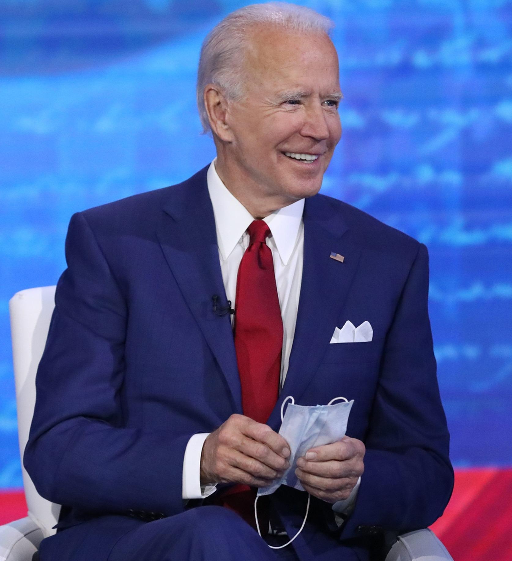 Joe Biden dijo que tal reunión nunca tuvo lugar