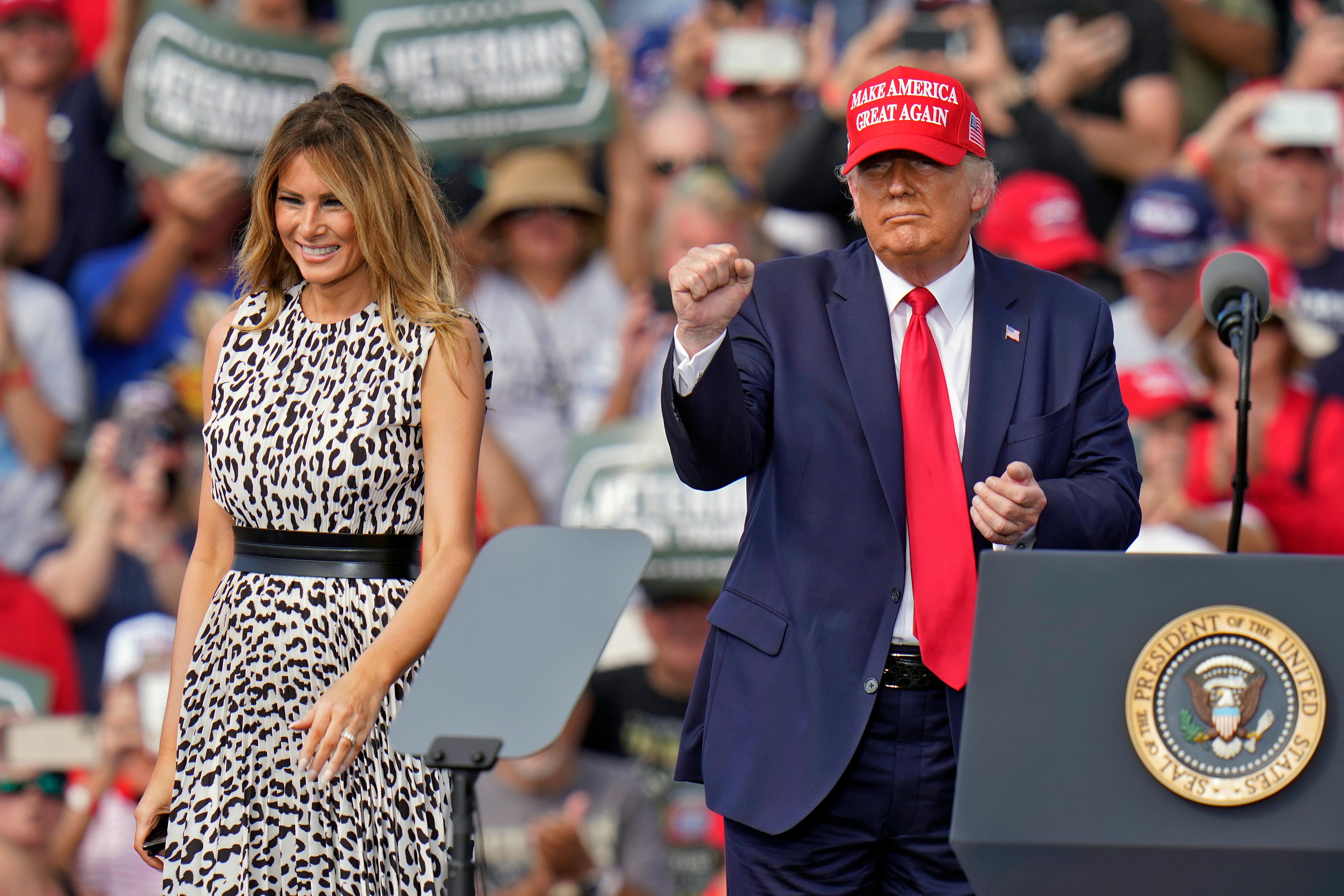 El presidente Trump afirmó que si Joe Biden gana, los ataques electorales como los vistos en Francia llegarán a Estados Unidos.