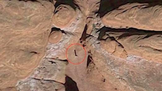 Las imágenes de Google Earth muestran que ha existido durante años