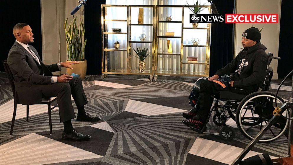 Blake dio una entrevista televisiva en Good Morning America