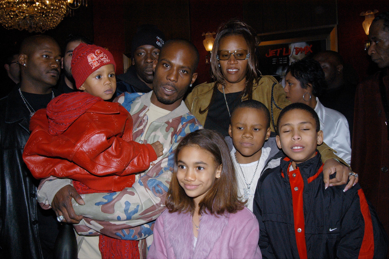DMX (Earl Simmons) con su familia