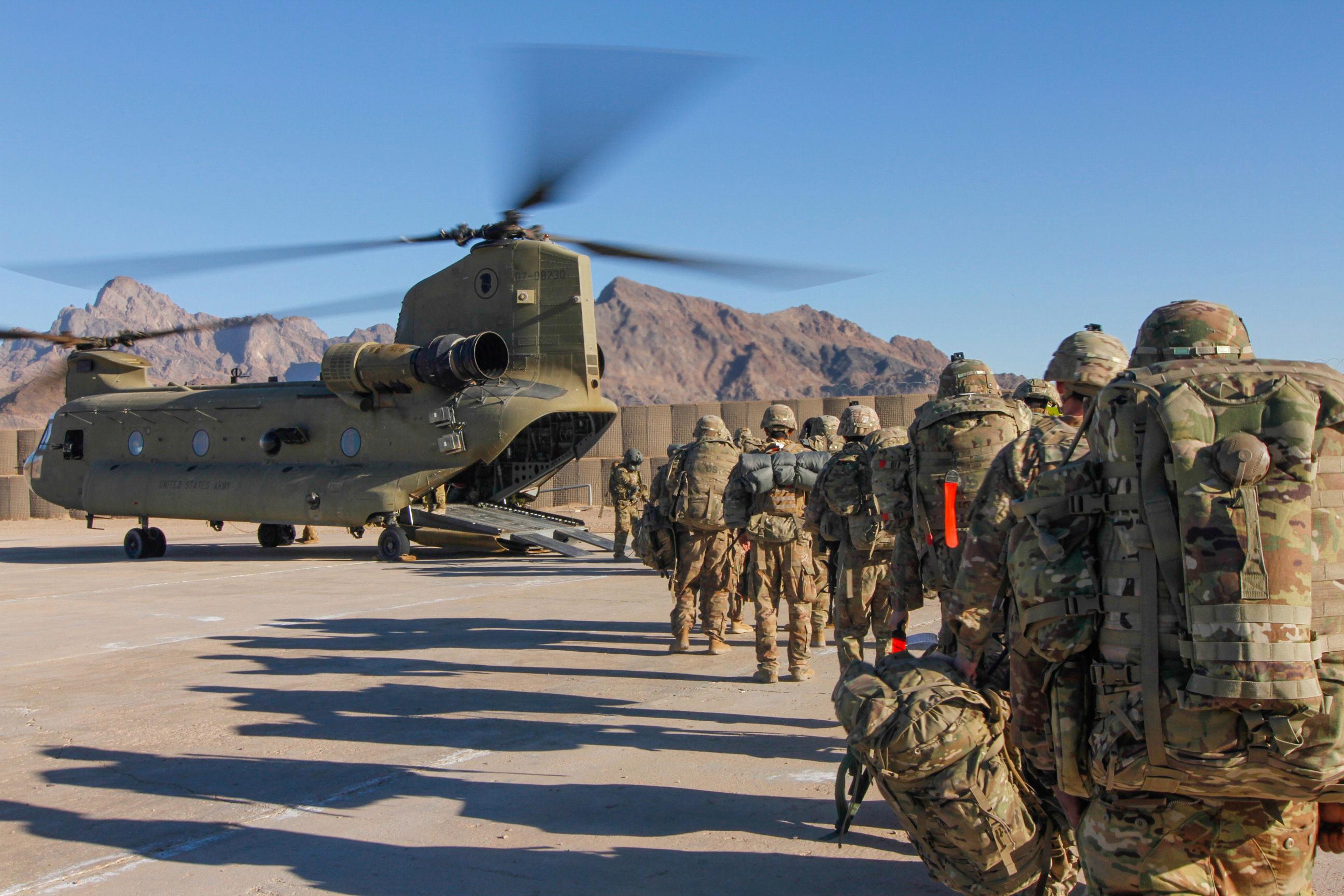 Los principales líderes militares advierten que la retirada podría provocar más derramamiento de sangre