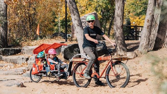 Remolques más seguros para bicicletas